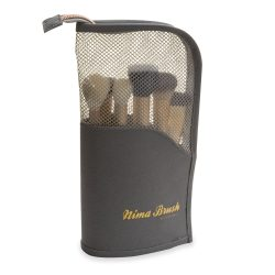 carry bag clutch bag for makeup brushes