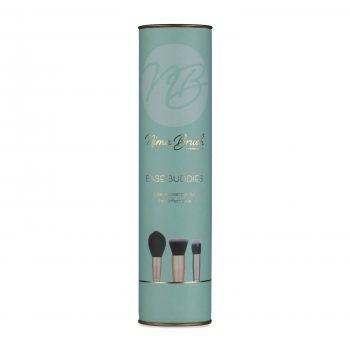 makeup brush collection mint and gold